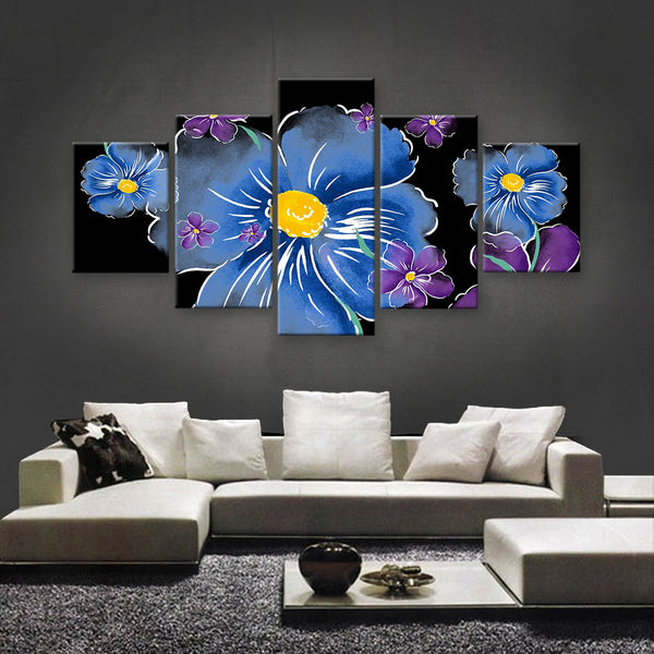 HD PRINTED LIMITED EDITION FLOWER CANVAS (FWC155002)