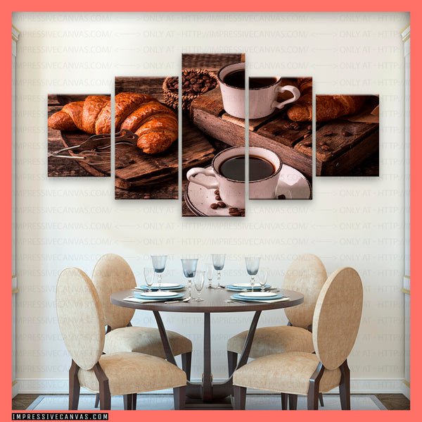 HD PRINTED LIMITED EDITION COFFEE LOVERS CANVAS (BEAN615154014)