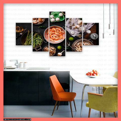 HD PRINTED LIMITED EDITION FOOD CANVAS (FOOD61515406)