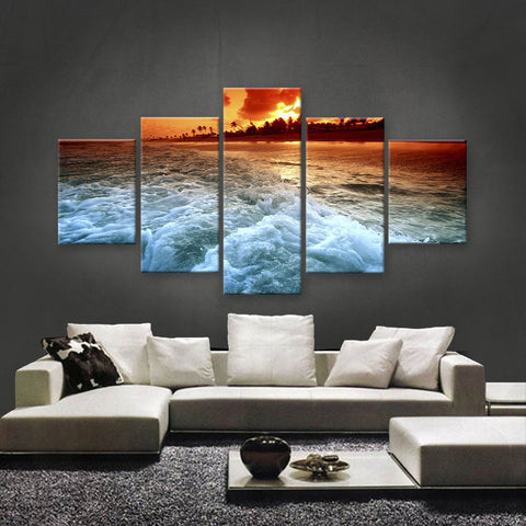 HD PRINTED LIMITED EDITION BEACH CANVAS (BHC159003)
