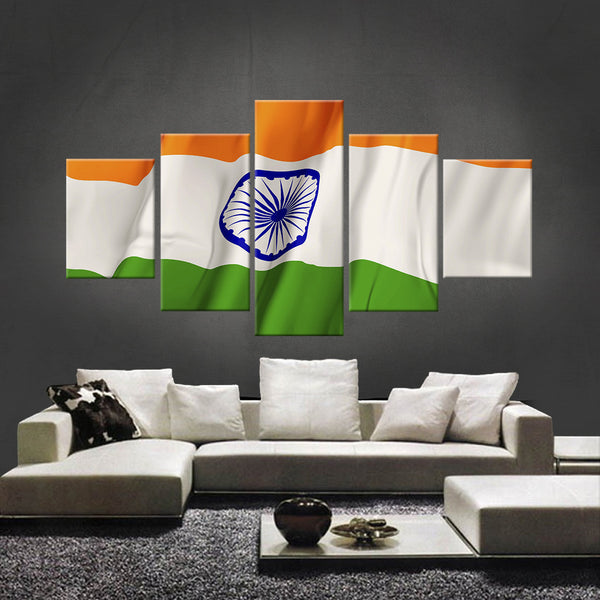 HD PRINTED LIMITED EDITION INDIAN (INDIA) FLAG CANVAS (FLAG120025)