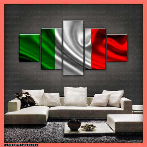 HD PRINTED LIMITED EDITION - ITALIAN (ITALY) FLAG CANVAS (FLAG150080)