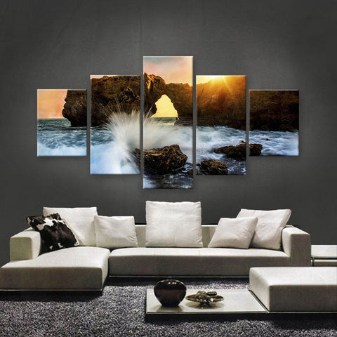 HD PRINTED LIMITED EDITION BEACH CANVAS (BHC159007)