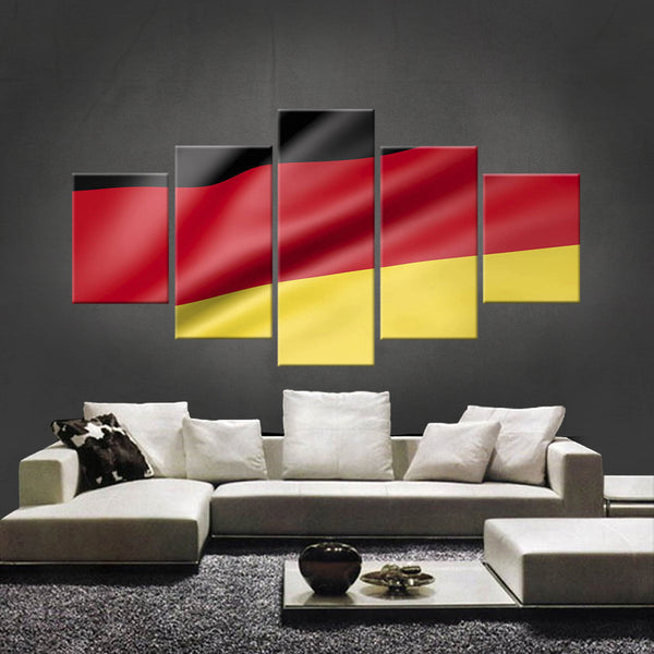 HD PRINTED LIMITED EDITION GERMAN (GERMANY) FLAG CANVAS (FLAG120023)