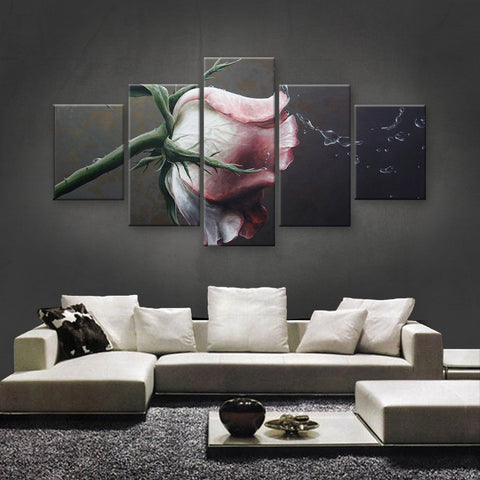 HD PRINTED LIMITED EDITION FLOWER CANVAS (FWC155004)