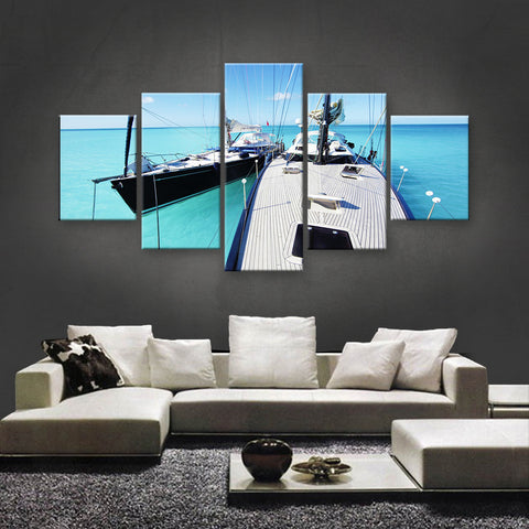 HD PRINTED LIMITED EDITION SAILING CANVAS (SLC155002)