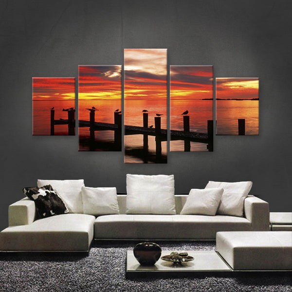 HD PRINTED LIMITED EDITION SUNSET CANVAS (STC159008)