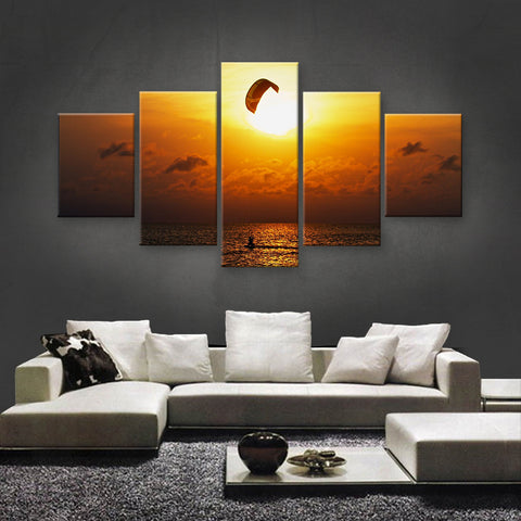 HD PRINTED LIMITED EDITION KITE SURFING CANVAS (KTC155001)