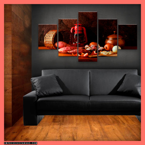 HD PRINTED LIMITED EDITION STILL LIFE CANVAS (STILFE27173301)