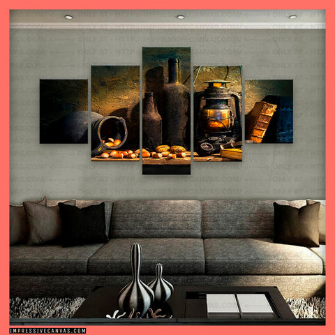 HD PRINTED LIMITED EDITION STILL LIFE CANVAS (STILFE27173302)