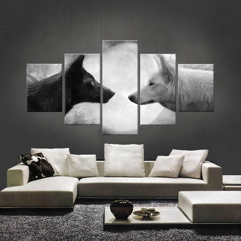 HD PRINTED LIMITED EDITION WOLF CANVAS (WOLF210001)