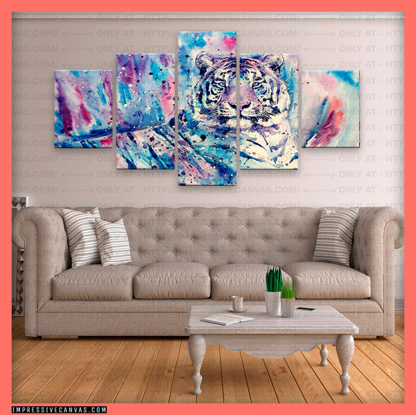 HD PRINTED LIMITED EDITION TIGER CANVAS (TIGER7163202)