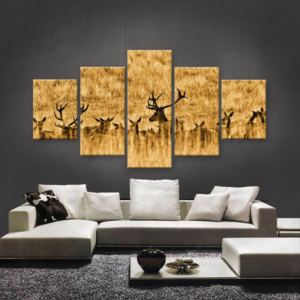 HD PRINTED LIMITED EDITION WILDLIFE CANVAS (WLC1590026)