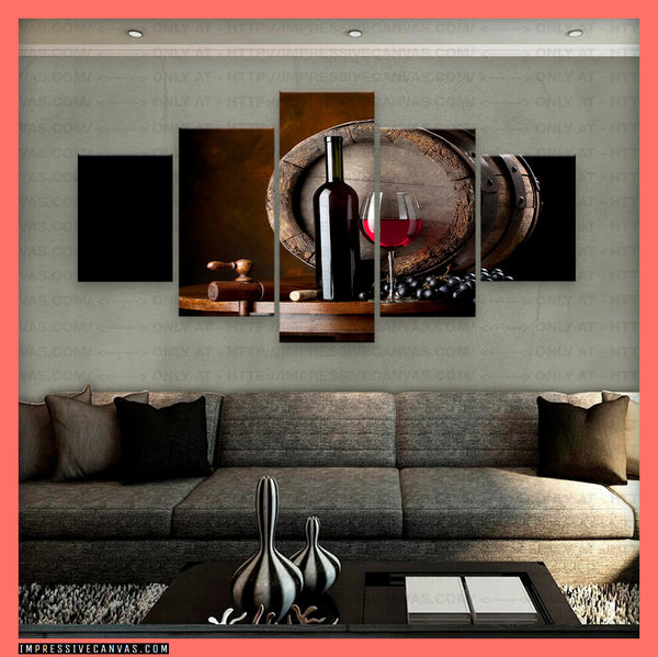 HD PRINTED LIMITED EDITION WINE LOVERS CANVAS (WINELOVR3173701)