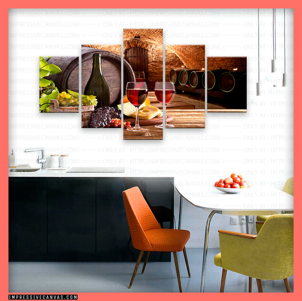 HD PRINTED LIMITED EDITION WINE LOVERS CANVAS (WINE61515408)
