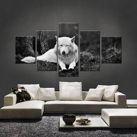 HD PRINTED LIMITED EDITION WOLF CANVAS (WOLF210007)