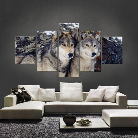 HD PRINTED LIMITED EDITION WOLF CANVAS (WOLF210009)