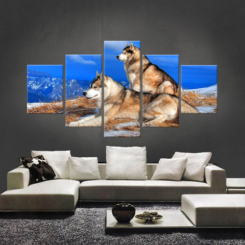 HD PRINTED LIMITED EDITION WOLF CANVAS (WOLF2100010)