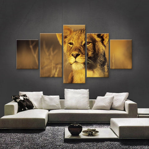 HD PRINTED LIMITED EDITION WILDLIFE CANVAS (WLC1590028)