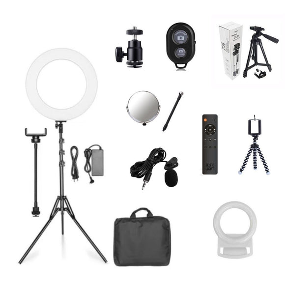 ELITE 18inch Ring Light Bundle - Selfie Light Pty Ltd