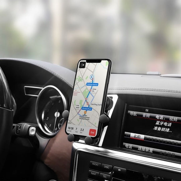 Smartphone Car Mount - Air outlet bracket - Selfie Light Pty Ltd