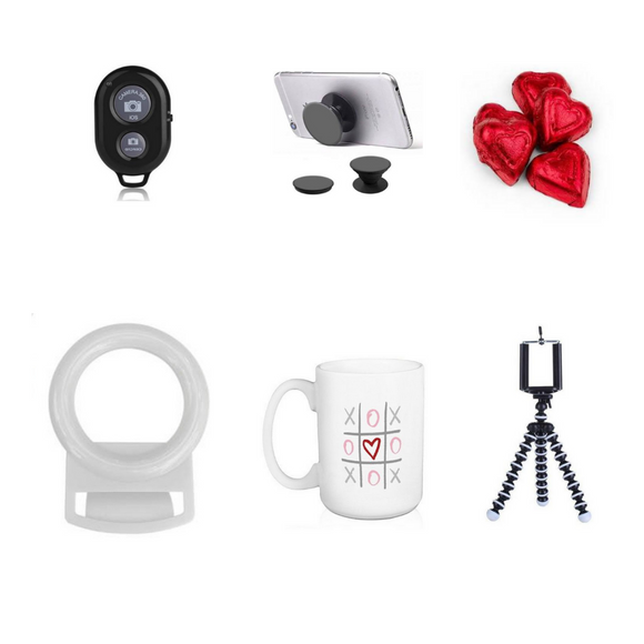 Valentine's Hamper #5 - SelfieLight Bundle