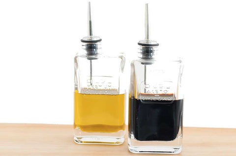 Glass - Optima Oil and Vinegar Pourers