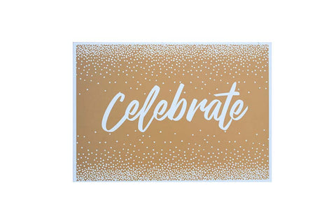 Paper Placemats - Celebrate