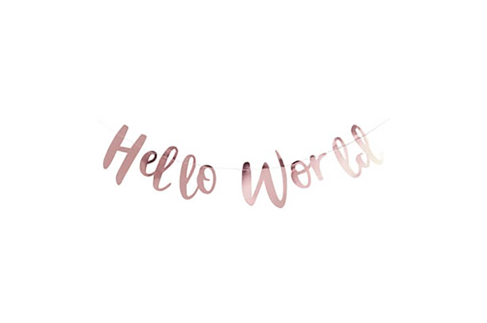 Bunting - Hello World