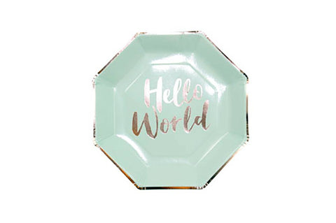 Paper Plates - Hello World