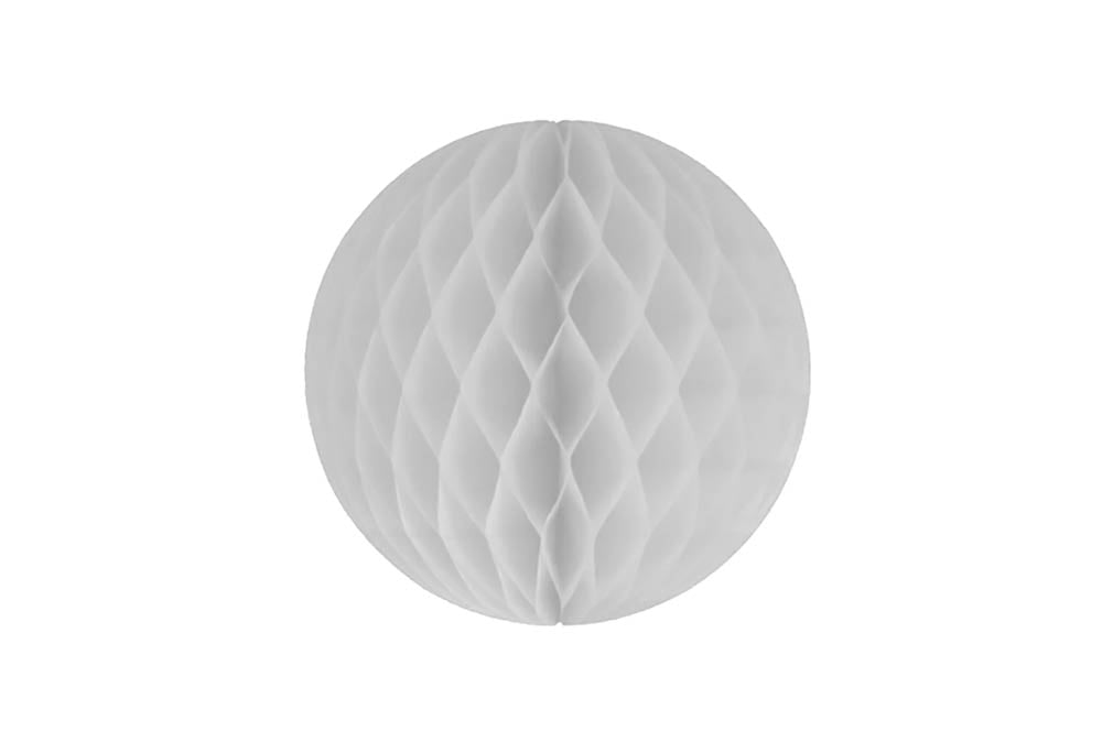 Honeycomb Ball - White Medium