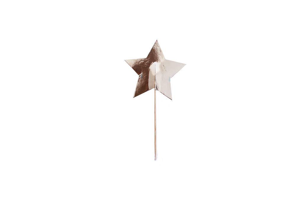 Cupcake Toppers - Gold Star