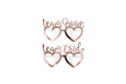 Glasses - Team Bride & Team Groom