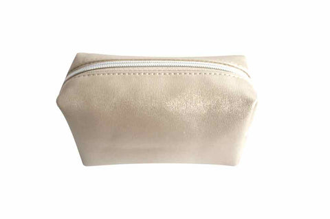 Bag - Make-Up Square Gold