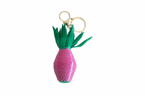 Pineapple Keyring - Pink