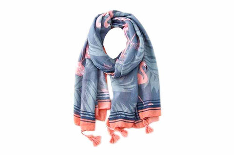 Scarf - Flamingo Bay