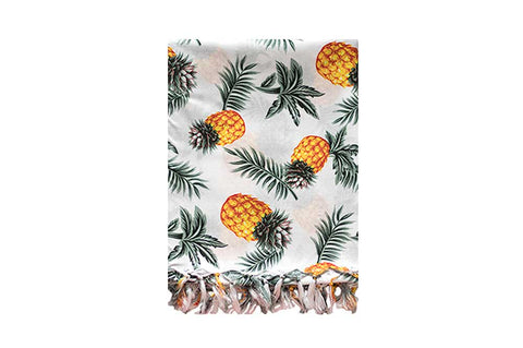 Sarong - White Pineapple
