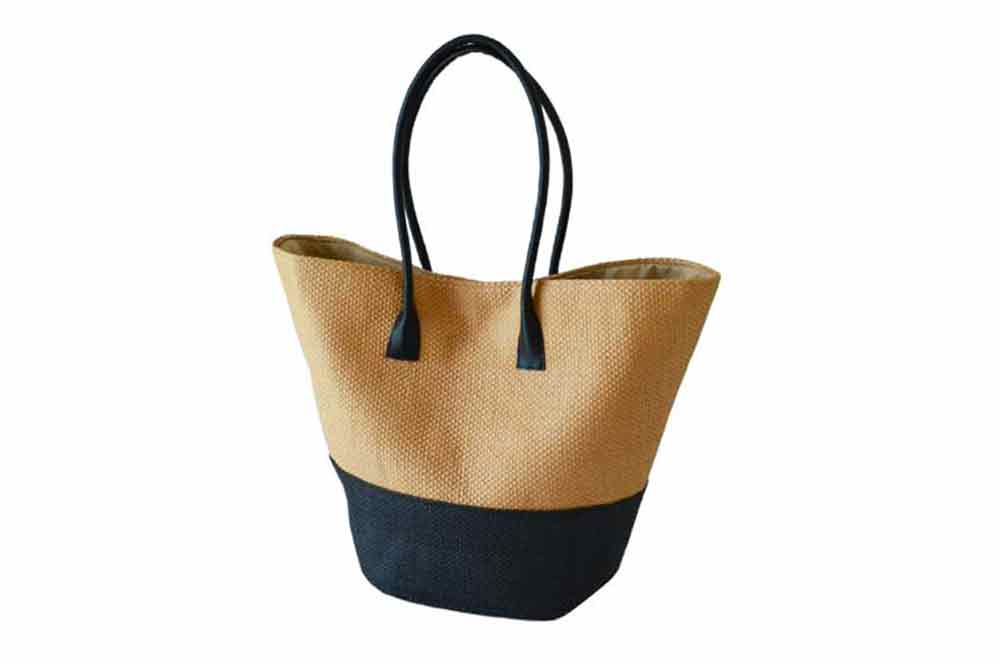 Bag - Straw Shopper