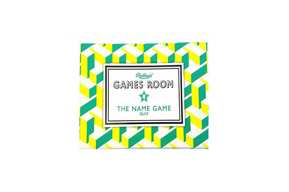 Wild and Wolf Games Room - The Name Game