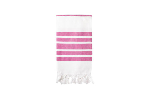 Turkish Towel - Herringbone Pink