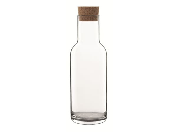Glass - Bormioli Carafe with Cork Stopper