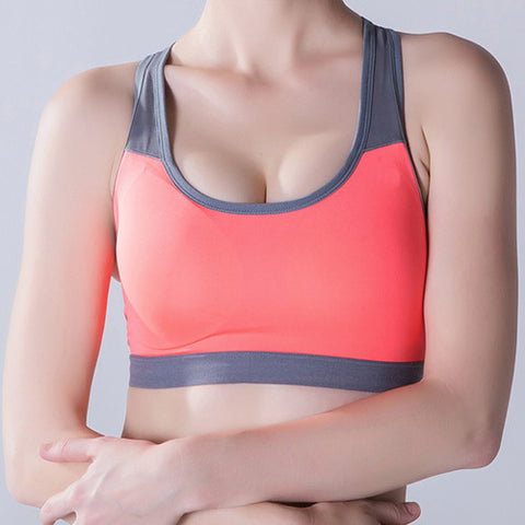 B.BANG Padded Push Up Yoga Sports Bra