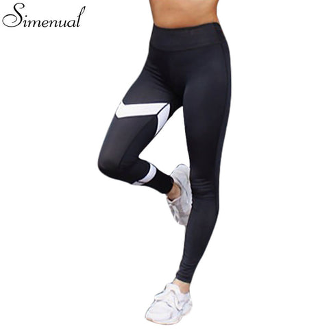 Simenual Breeze Black Fitness Leggings