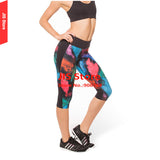 JIS Womens 3/4 Length Skinny Yoga Pants / Running Tights