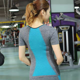 New Style Dual Colour Yoga Tops (Sleeveless / Short Sleeve / Long Sleeve)