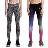 Womens Compression Slim Fit Yoga Leggings With Elastic Waist