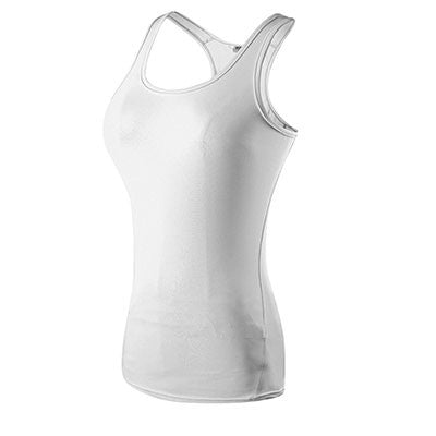 YEL Quick Dry Sleeveless Womens Yoga / Training Tank Top