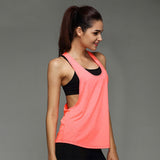 Sleeveless Loose Fit Yoga Top