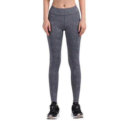 Women's Yoga or Running Compression Tights - Quick Dry Material with Elastic Trim