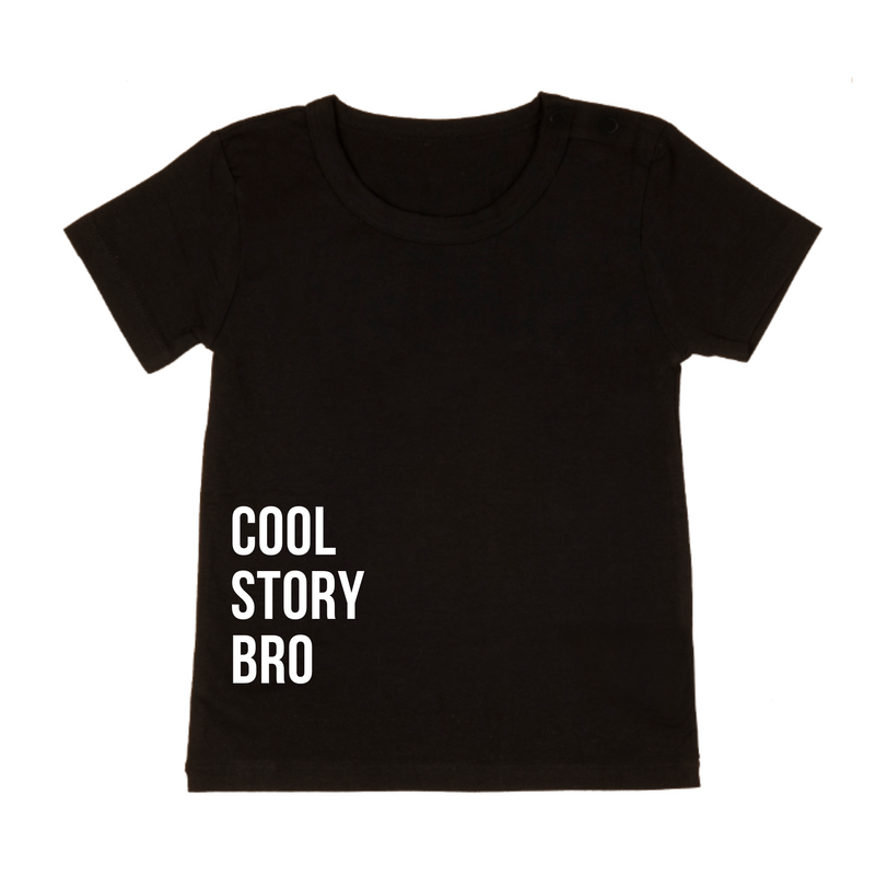 MLW By Design - Cool Story Bro Tee | Black or White
